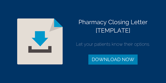 Pharmacy Closing Letter Download image