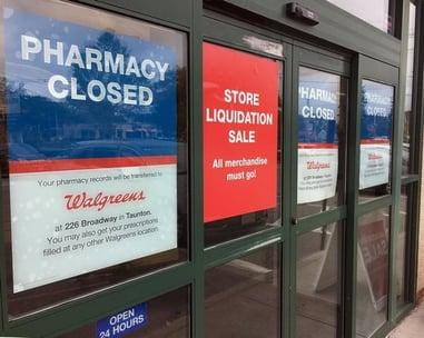 walgreens closed